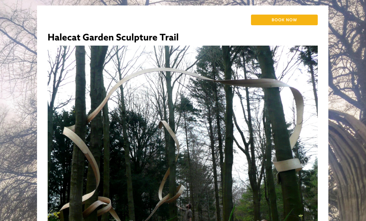 Free online ticketing to manage numbers eg Museums to Sculpture Trails to Film Clubs