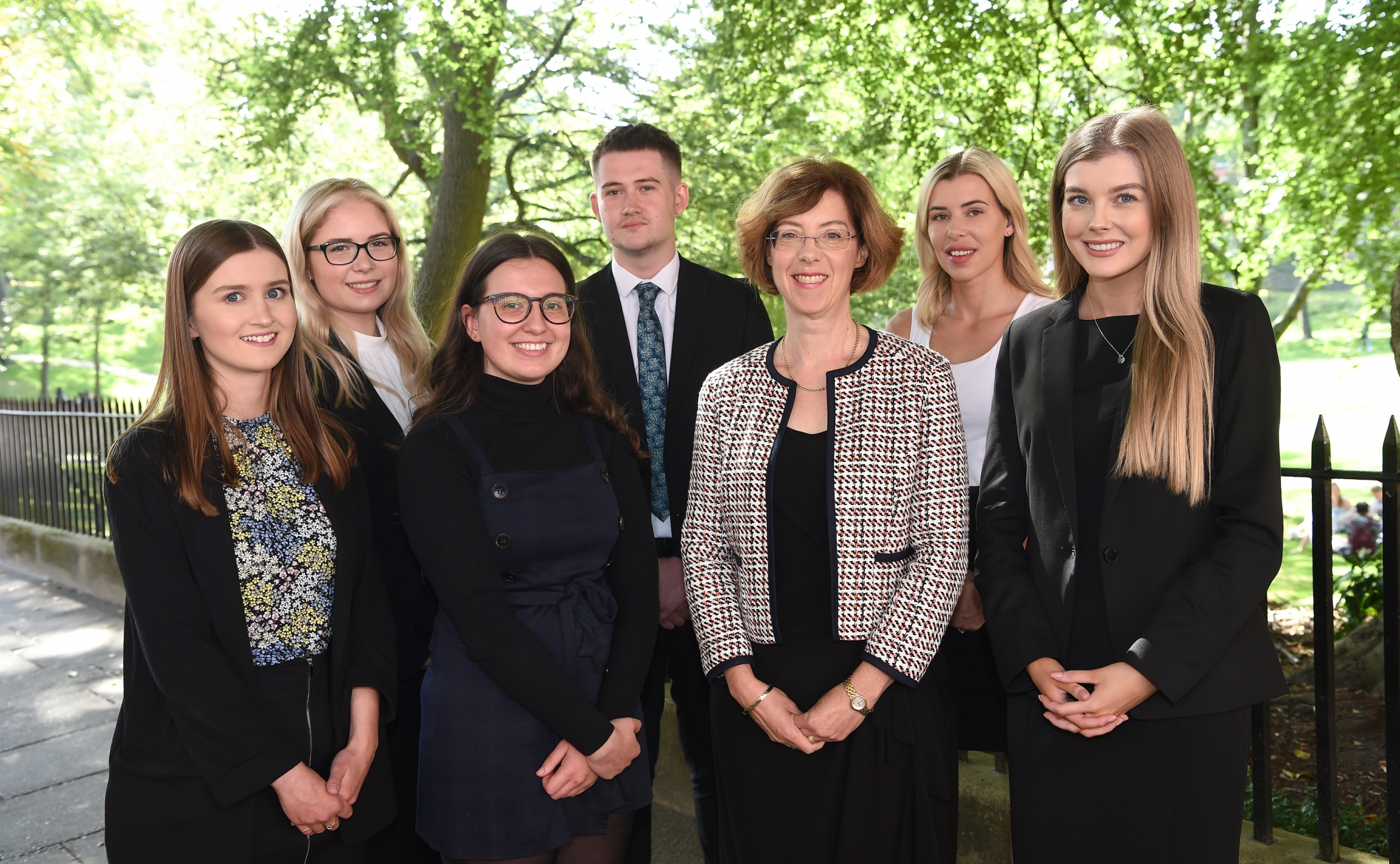 The future's bright as Napthens recruits six trainees