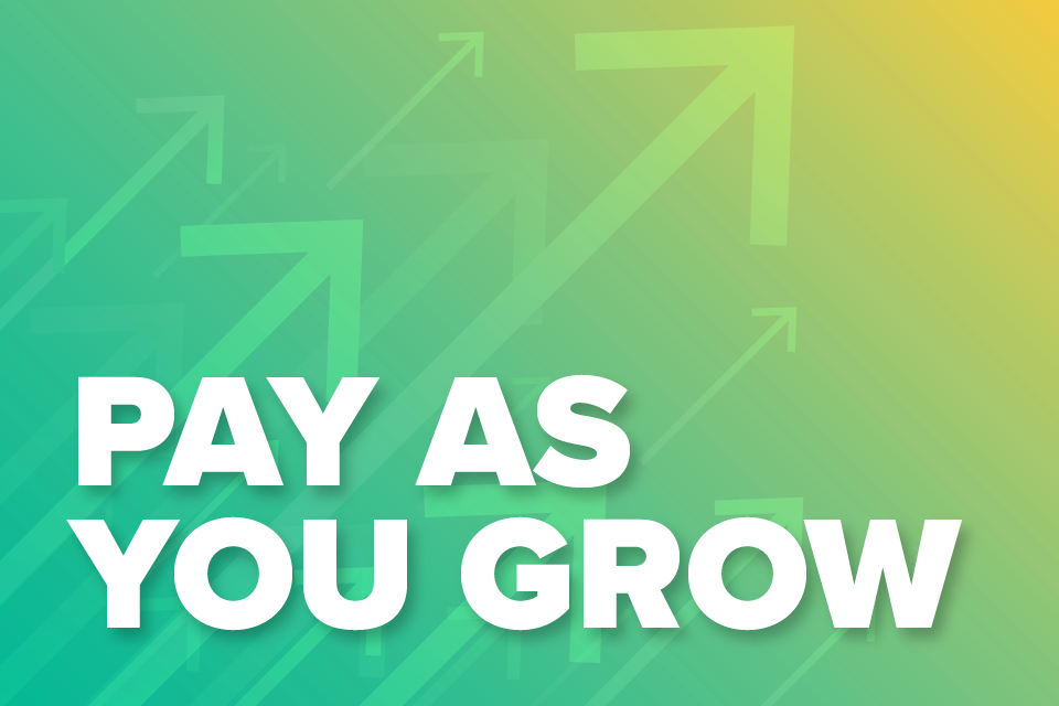 Pay As You Grow - more flexibility to repay Bounce Back Loans