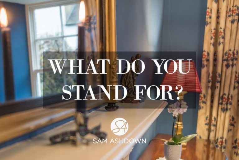 What Do You Stand For???