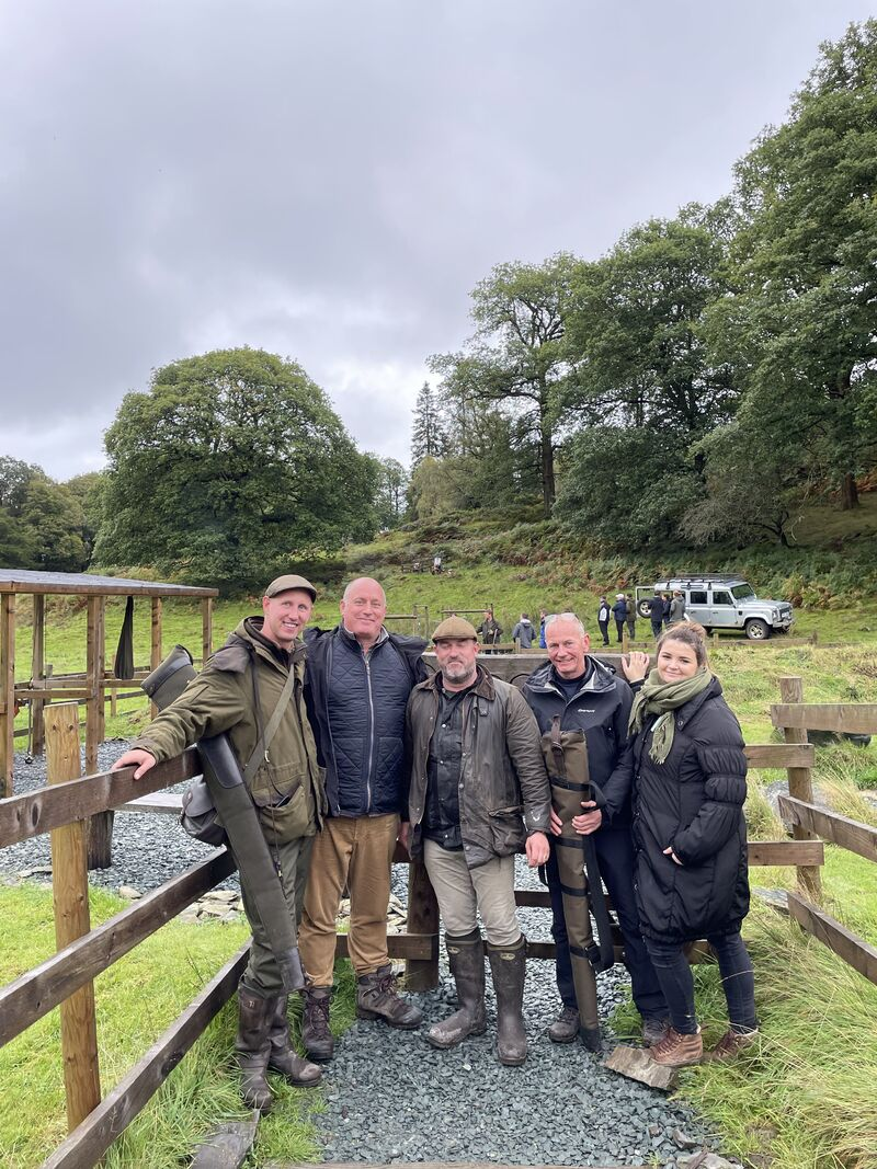 Reasons to host a 'charity' clay pigeon shoot in Cumbria.