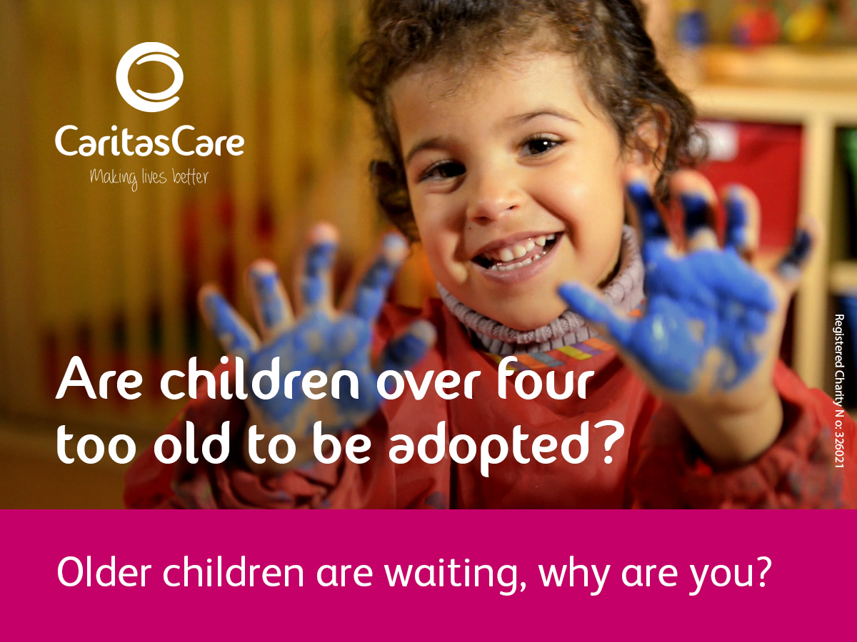 Too Old for Adoption at 4? We don't think so…